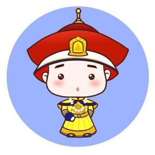 皇帝简笔画图片步骤