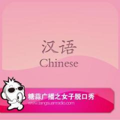 糖蒜女子脱口秀:汉语