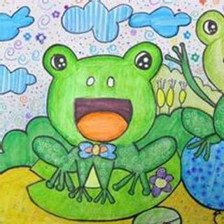 快乐的一只小青蛙