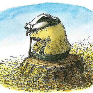 乐乐小朋友讲-獾的礼物图片