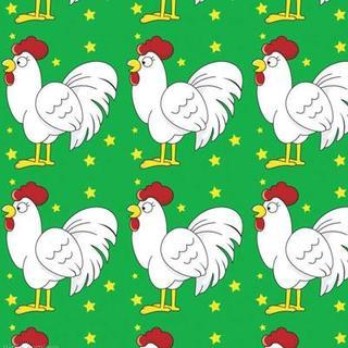 我是一只大公鸡,  喔喔喔喔喔喔喔,  多威风,多神气,  只要我,喔喔