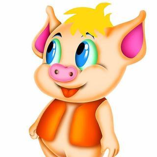一对小猪图片大全可爱