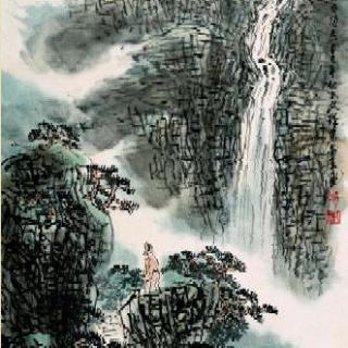 alex读古诗--李白《望庐山瀑布》
