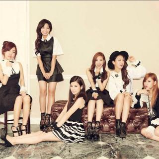 求一个韩国女团的歌名,歌词很卖萌,舞蹈很可爱.求名字