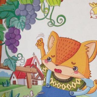 儿童画狐狸的步骤图