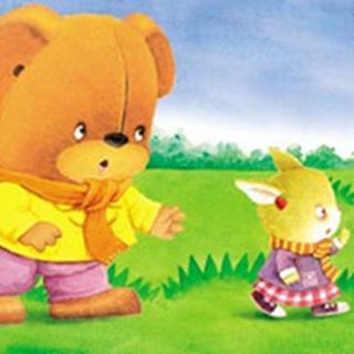 小兔子和嘟嘟熊