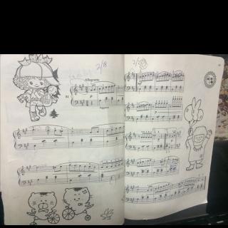20150903【钢琴曲】孩子们的拜厄下81条图片