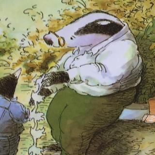 {绘本廊}獾的礼物(感悟生命)图片