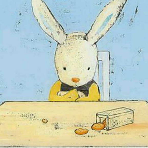 小兔子气得想离家出走,但终究还是离不开妈妈的爱.