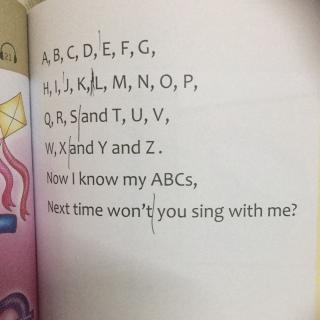 学唱英语儿歌9 ABC字母歌 附26个字母的读音示范 -在线收听 刘爽亲子