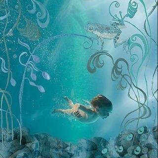 童水画风景步骤