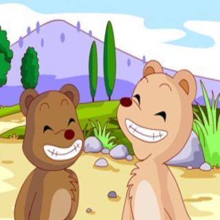 林婧涵--两只笨狗熊