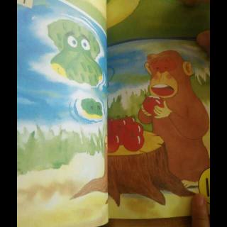 猴子和鳄鱼