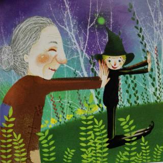 奶奶和小鬼~汤素兰