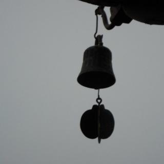 废旧铁钉手工制作风铃