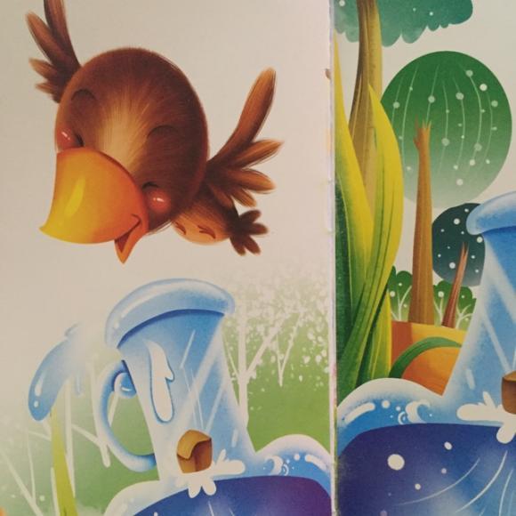 乌鸦喝水 绘本故事