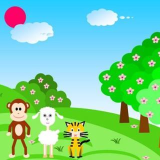 森林里有很多动物.今天天气晴朗,小动物要举行运动会.