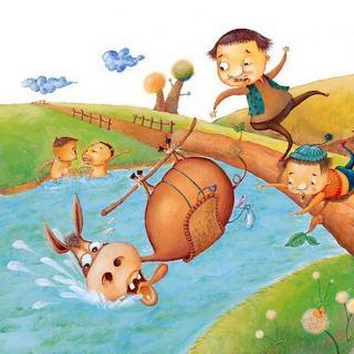小木偶和蓝角小妖怪的故事