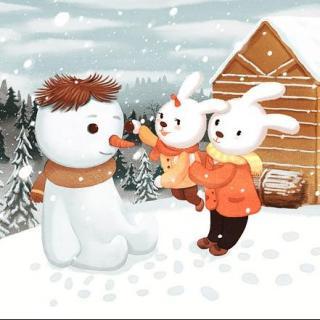 【花粒儿】绘本故事:雪孩子