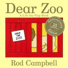 原版英文绘本-Dear Zoo by Rod Campbell