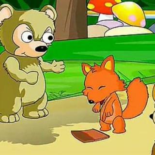 学会谦让最重要:《两只笨狗熊》---莫莫
