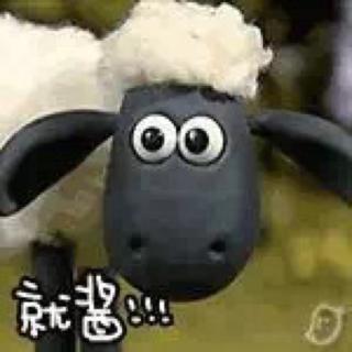 可爱小羊动态微信头像