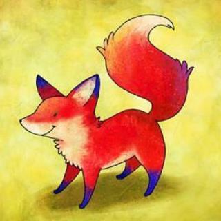 狐狸手绘写真彩铅