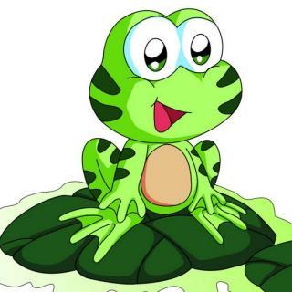 青蛙学飞图片