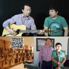 """夜晚的旋律 51 """"指弹中国""""老板李伟峰赴美 采访吉他手陈鹏"""