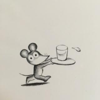 打破杯子的鼠小弟