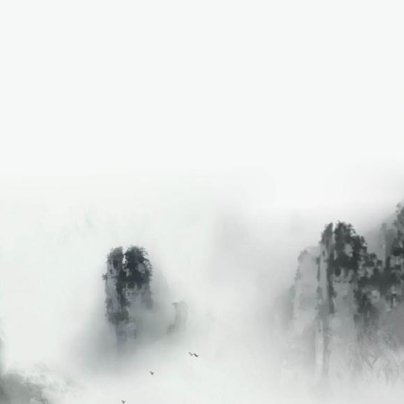 古风烟雾素材透明