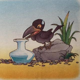 昊驰-乌鸦喝水图片