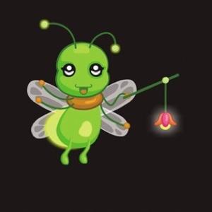 萤火虫找朋友