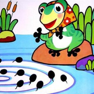 动漫 动物 卡通 两栖 漫画 头像 蝌蚪 320_320