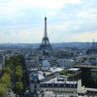巴黎鑖塔矢量图