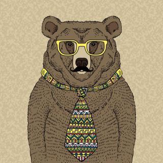 aaron妈咪讲故事啦~熊先生的哈欠图片