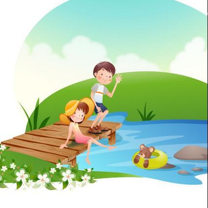 《童年》 演唱:静子姐姐  池塘边的榕树上 知了在声声叫着夏天 操场