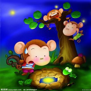 【猴子捞月亮】在线收听_家语妈妈故事屋_荔枝fm图片