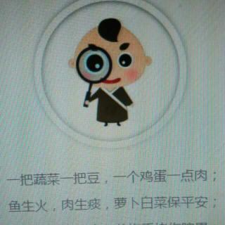 中医育儿歌图片