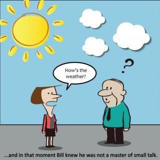 《为闲谈辩护》  in defense of small talk  闲聊可不是无用的废话图片
