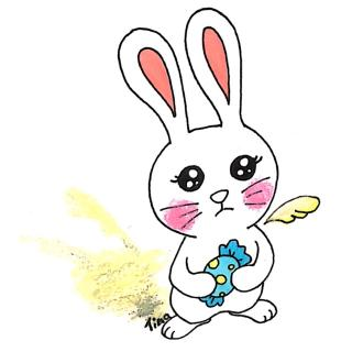 微信头像可爱动物小兔子