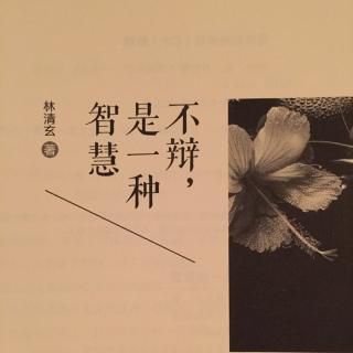 旋律·文字 下下签--林清玄《不辩,是一种智慧》  播客: 旋律·文字