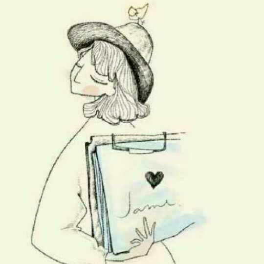 读书手绘画图片大全