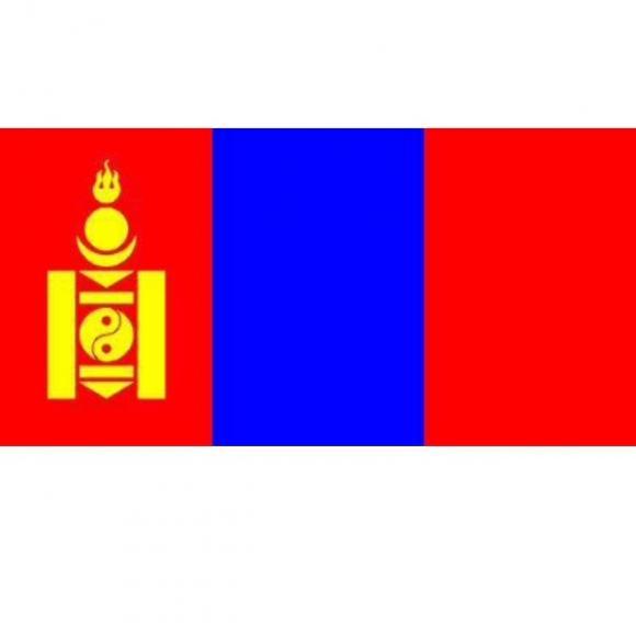 其他元素 三宝,青山,法轮,哈达和莲座  蒙古国的国徽呈圆形.