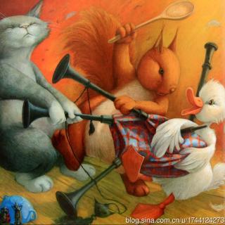 关于一锅汤的故事,关于小动物的友情,以及温馨柔软的爱.