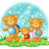 绘本故事《三只熊》