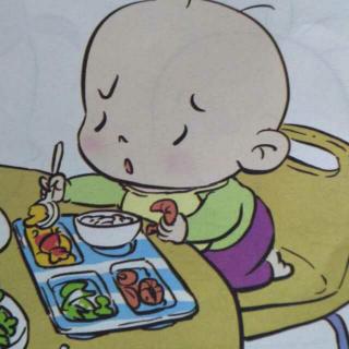 阿毛好习惯-吃饭不挑食图片
