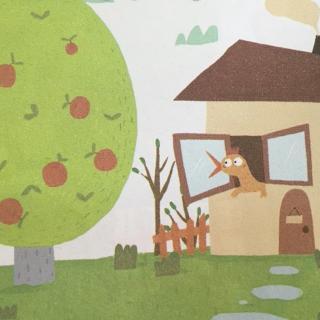 母鸡和苹果树