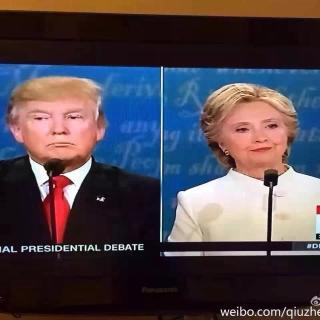 Debate 希拉里与川普的最终辩论赛