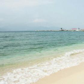 #向盲人说海#给你一个温暖的回忆